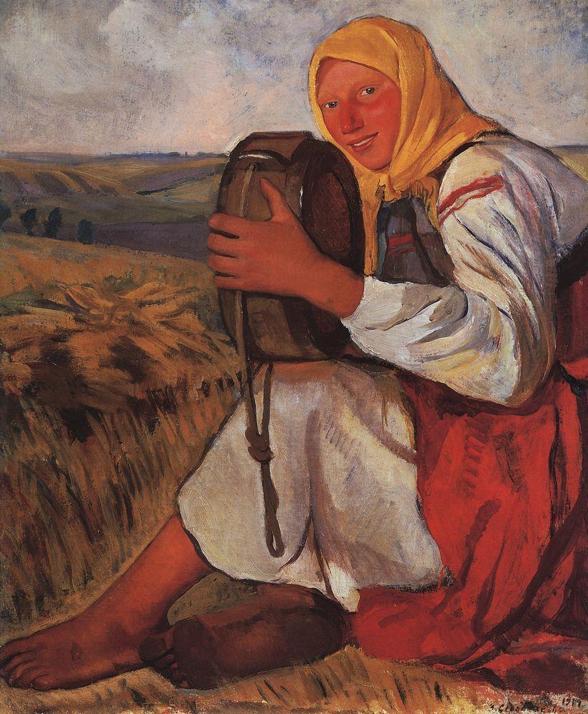 Zinaida_serebriakova крестьянка 1